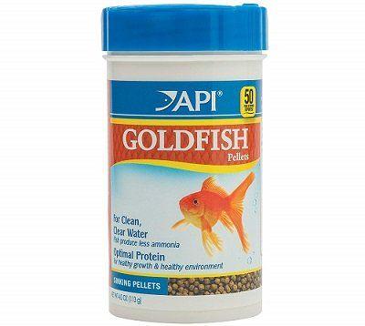 API Goldfish Food Pellets