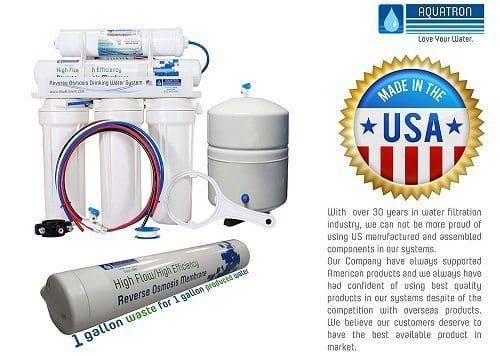 Aquatron 5-Stage GQM 121-75 Reverse Osmosis System