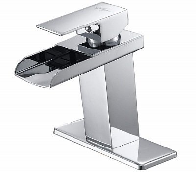 BWE Bathroom Faucet One Hole Deck Mount Lavatory