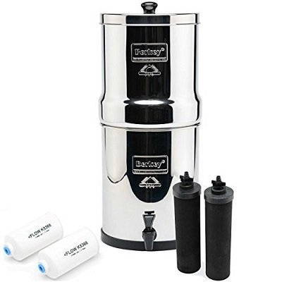 Berkey BK4X2 Countertop Water Filter System