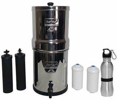 Berkey Countertop Water Filter System Bundle