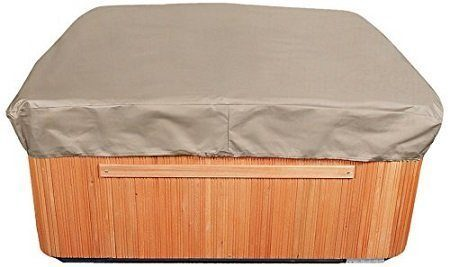 Budge English Garden Square Hot Tub Cover