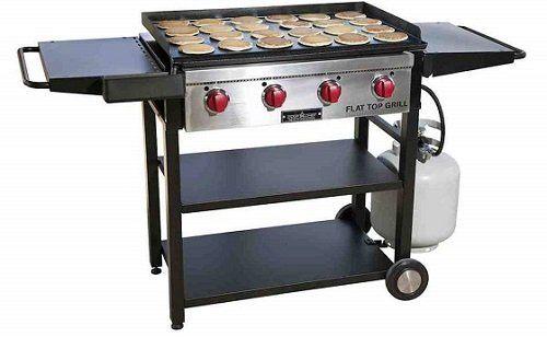 Camp Chef FTG600 Outdoor Griddle with Side Shelves