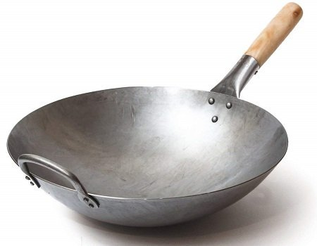 Craft Wok Hand-Hammered Traditional Chinese Wok