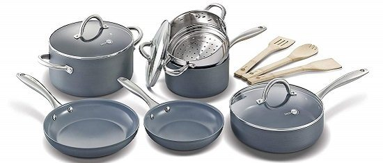GreenPan Lima Non-Stick Ceramic Cookware Set
