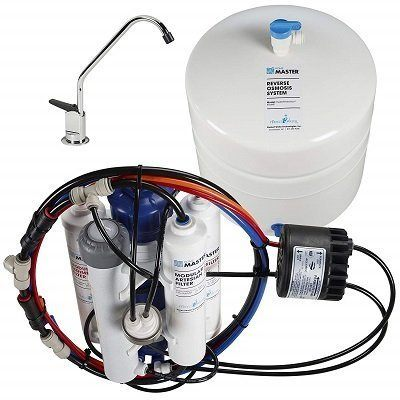 Home Master TMHP HydroPerfection Under Sink Water Filter