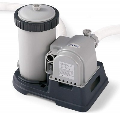 Intex 28633EG Krystal Clear Cartridge Filter Pool Pump