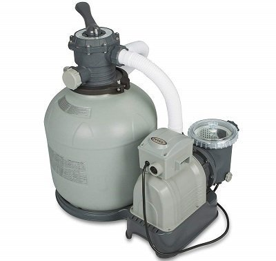 Intex Krystal Clear Sand Filter for Above-Ground Pool