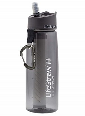 LifeStraw Portable Water Filter Bottles with 2-Stage Integrated Filter