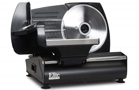 Maxi-Matic Elite Platinum EMT-503B Electric Meat Slicer