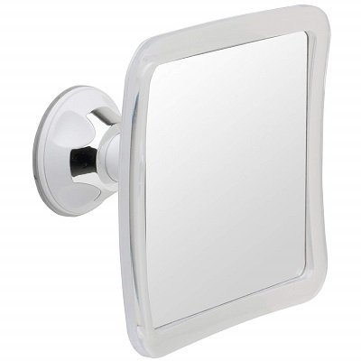 Mirrorvana Fogless Shower Mirror with Lock Suction-Cup