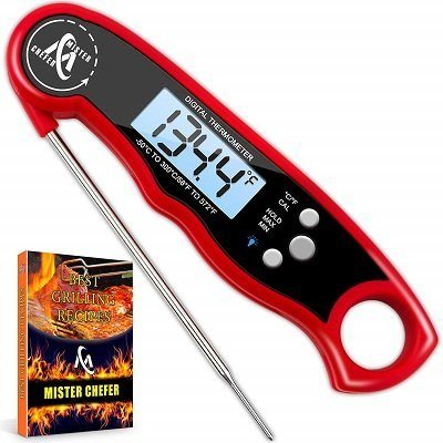 Mister Chefer Digital Instant-Read Smoker Thermometer