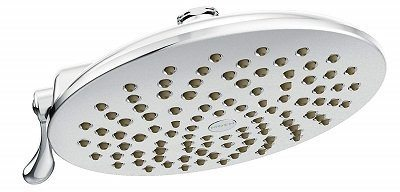 Moen Velocity Rain Shower Head with Immersion Technology