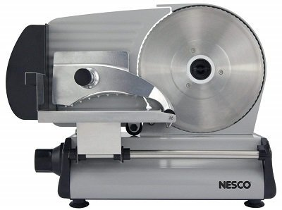 Nesco FS-250 Stainless Steel Meat Slicer