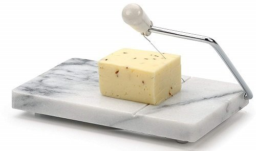 RSVP 8x5-Inch Marble Block Cheese Slicer