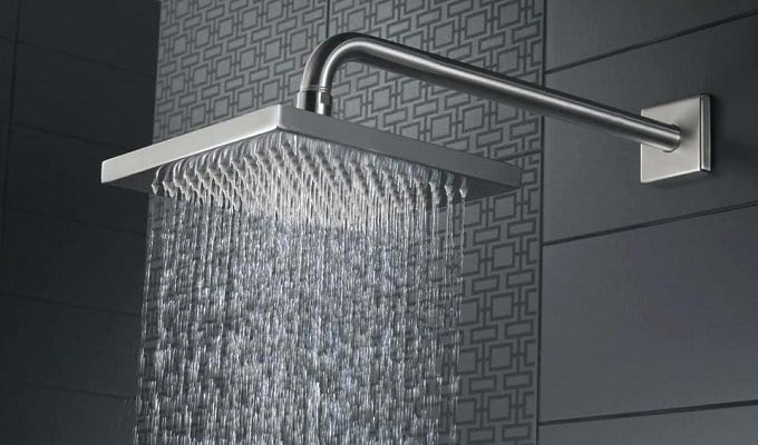 Rain vs. Regular Shower Head
