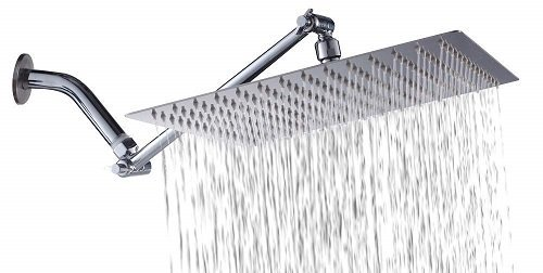 Sarlai Solid Square Ultra-Thin Rain Shower Head