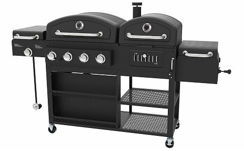 Smoke Hollow PS9900 4-in-1 Hybrid Grill