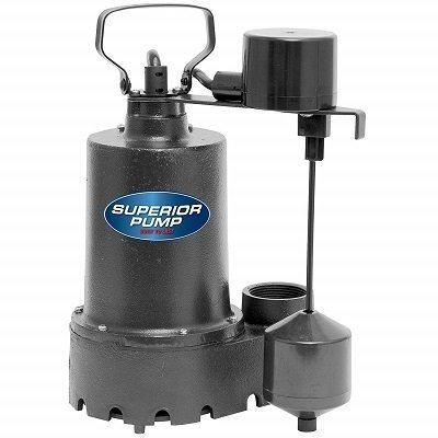 Superior Pump 92341 Side-Discharge Sump Pump