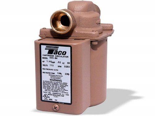 Taco 006-B4 Bronze Hot Water Recirculating Pump