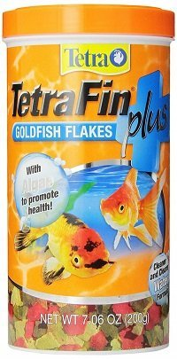 Tetra Tetrafin Plus Goldfish Flake Food