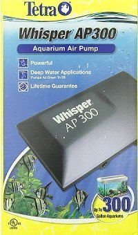 Tetra Whisper Air Pump for Deep Water Application