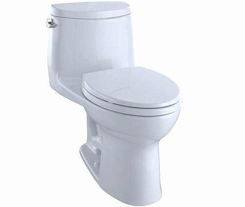 Toto MS604114CEFG#01 UltraMax II One Piece Toilet