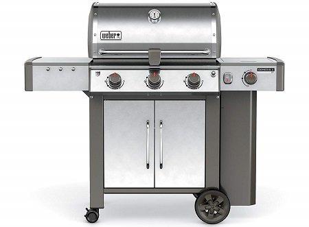 Weber Genesis II LX S-340 Stainless Steel Grill
