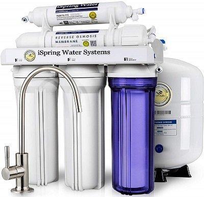 iSpring RCC7 Residental Under Sink Reverse Osmosis System