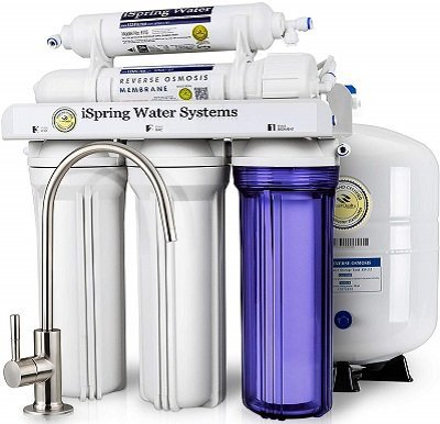 iSpring RCC7 Residental Under Sink Reverse Osmosis System