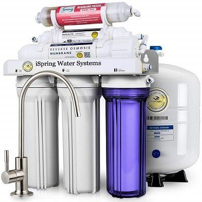 iSpring Superb Taste Under Sink Reverse Osmosis System
