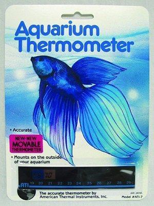 American Thermal Aquarium Horizontal Thermometer