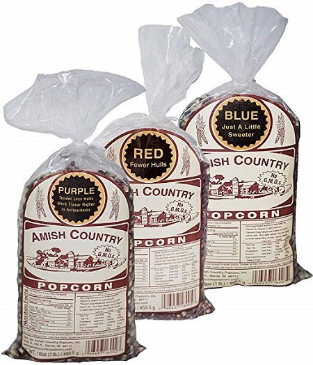 Amish Country Popcorn with Recipe Guide