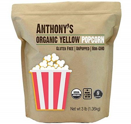 Anthony's Organic Yellow Popcorn
