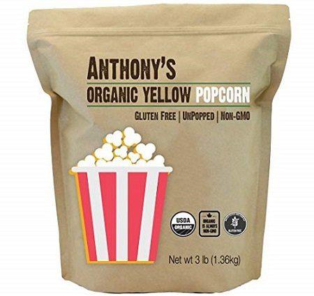 Anthony's Organic Yellow Popcorn