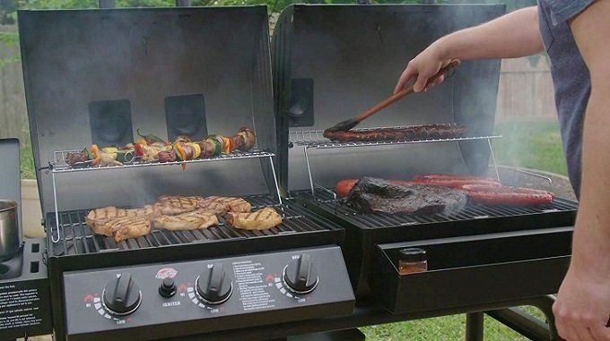 Best Smoker Grill Combo