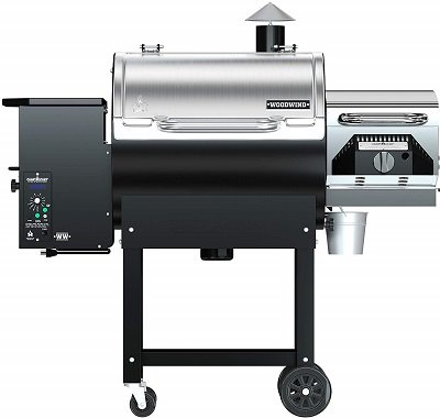 Cam Chef Woodwind Classic Smoker Grill Combo