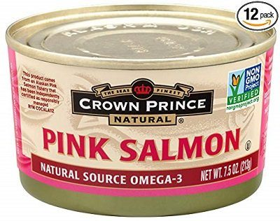Crown Price Natural Canned Salmon