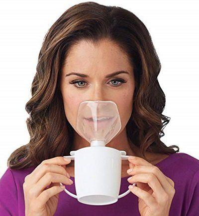 Dr. Leonard's Personal Steam Inhaler