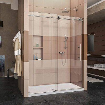 DreamLine Enigma-X Frameless Shower Door