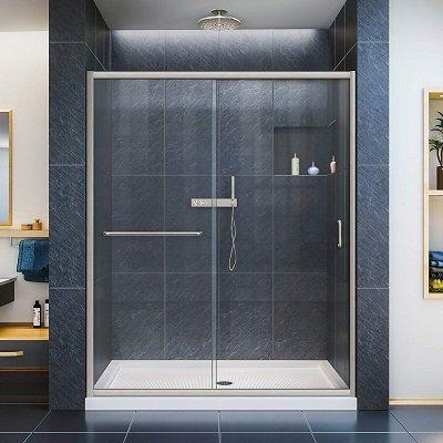 DreamLine Infinity-Z Frameless Shower Door