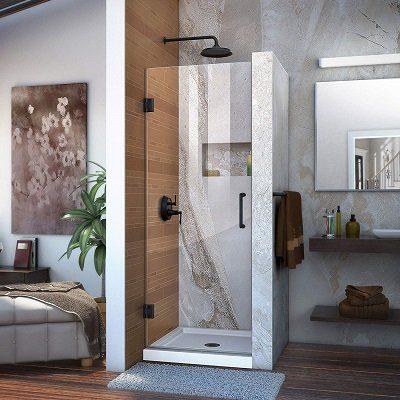 DreamLine Unidoor Hinged Frameless Shower Door
