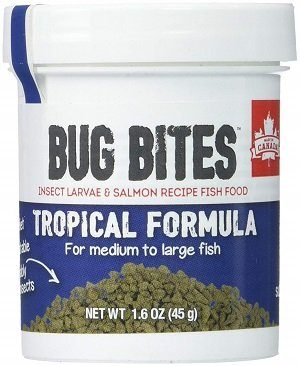 Fluval Bug Bites Granules Tropical Fish Food