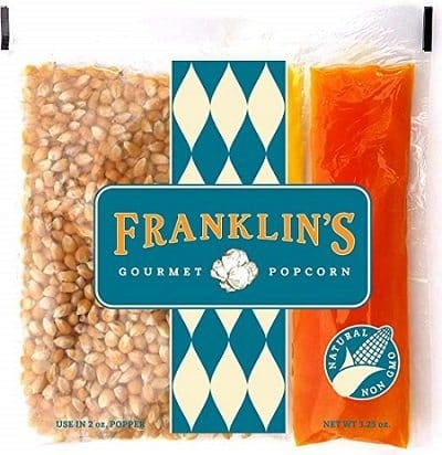 Franklin's Gourmet Movie Theatre Popcorn
