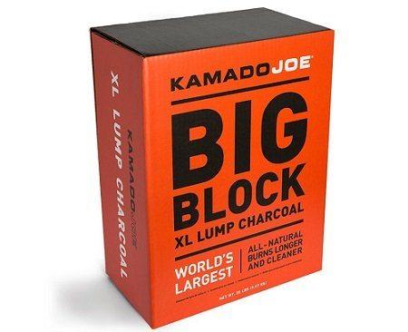 KamadoJoe Big Block Natural Hardwood Lump Charcoal
