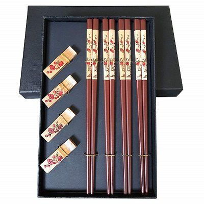 Mainiusi Reusable Chopsticks with Rest