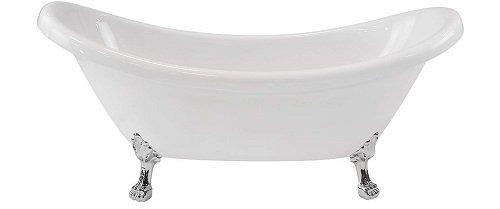 Maykke Mona Traditional Acrylic Freestanding Tub