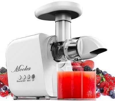 Mooka Slow Masticating Juicer