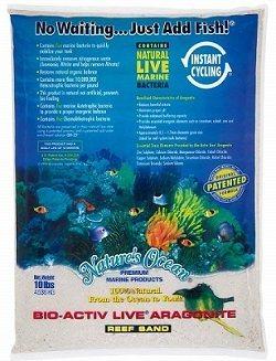 Nature's Ocean No.0 Bio-Activ Aquarium Sand