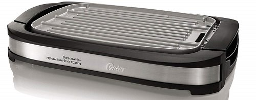 Oster Titanium Infused Reversible Ceramic Electric Griddle